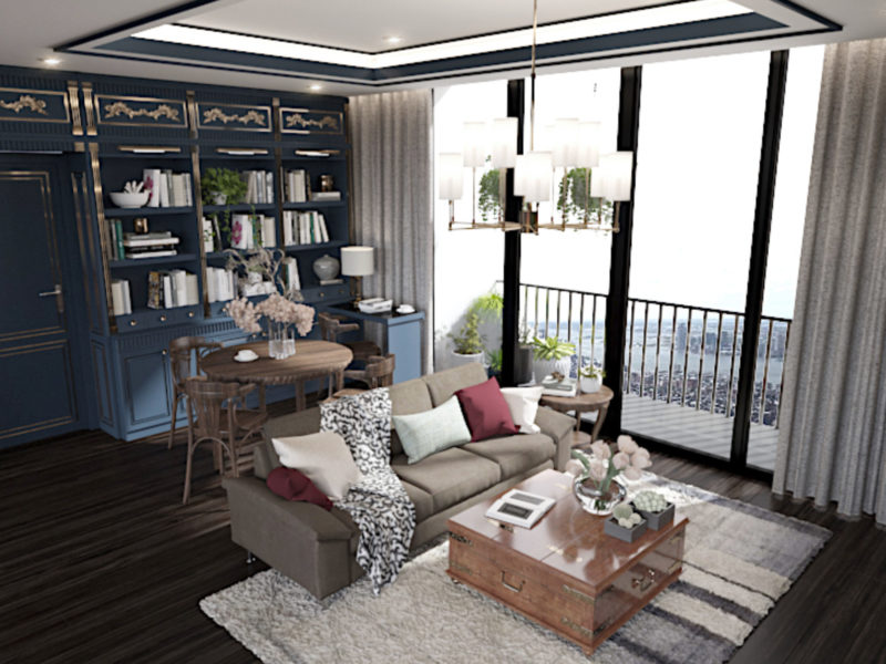 Harry Potter Theme interior design - Living Room