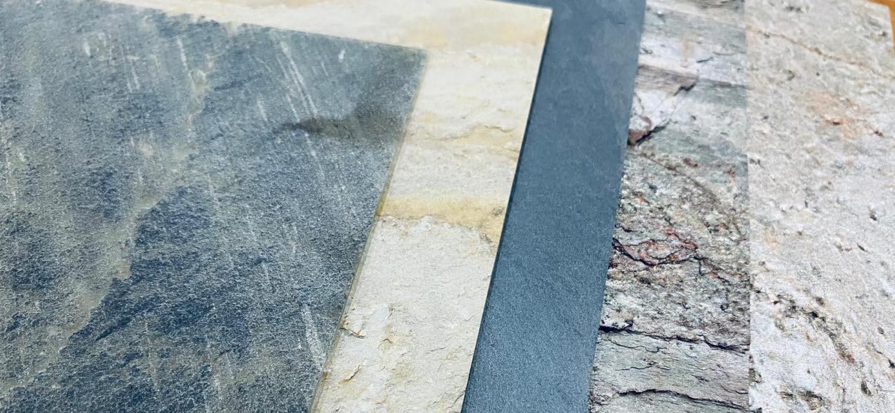 Natural stone veneer cover