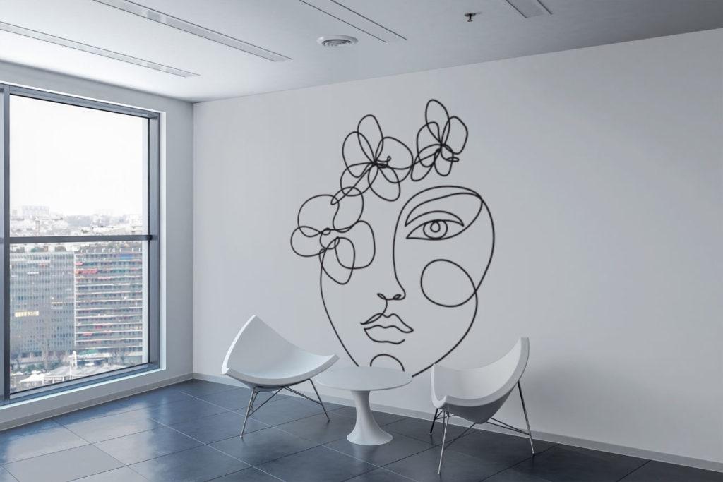 Face Line Art