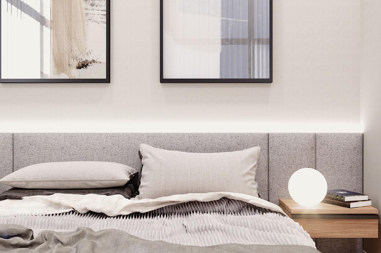 Zen Skyline Master Bedroom perspective