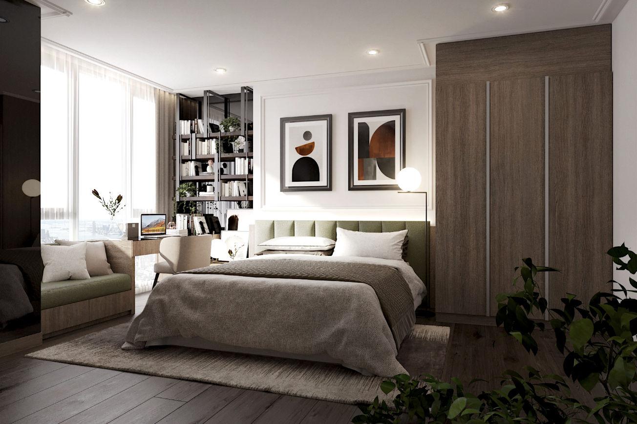 Emerald Green Bedroom 1 - Whizdom 101