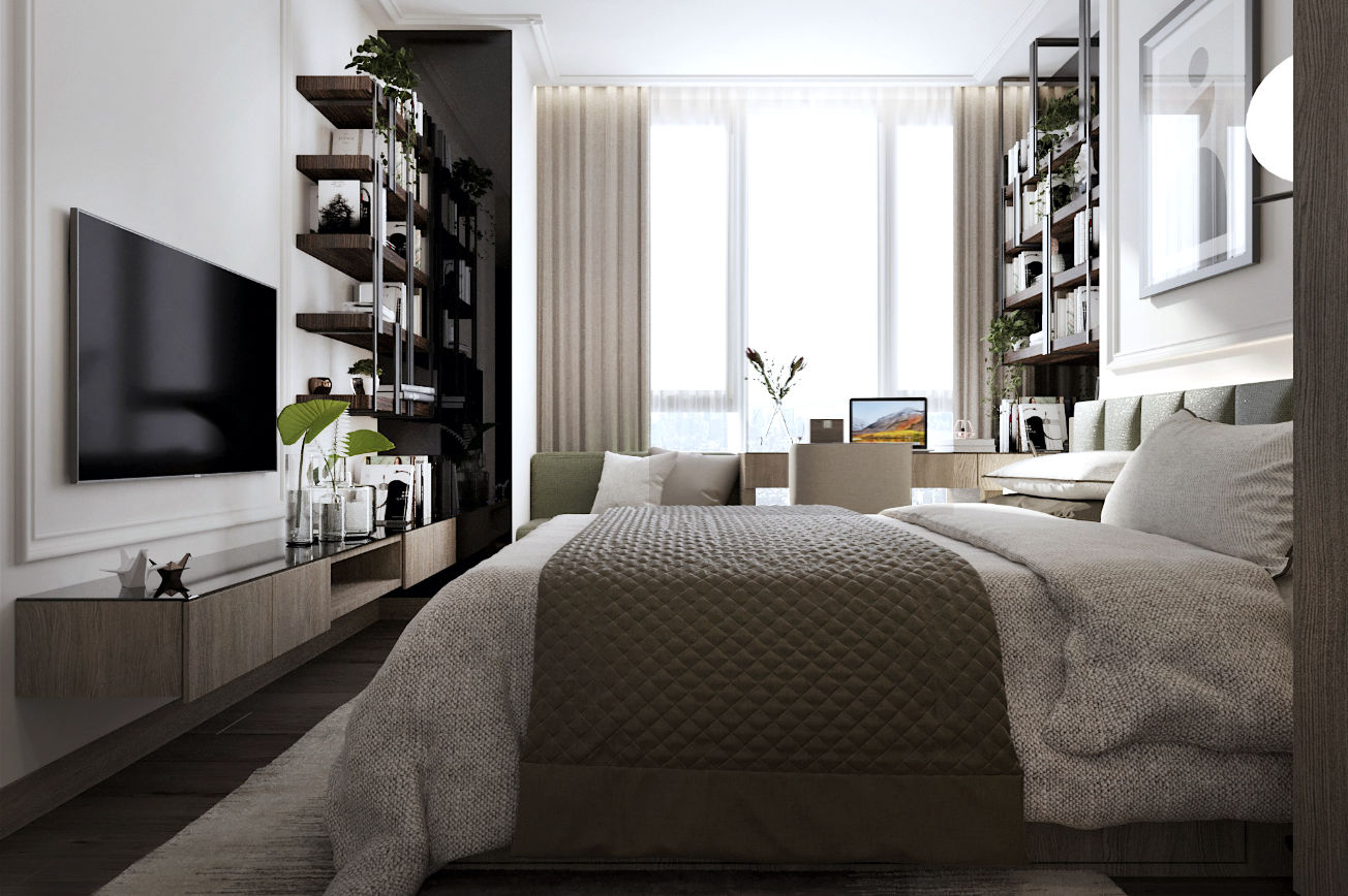 Emerald Green Bedroom 2 - Whizdom 101