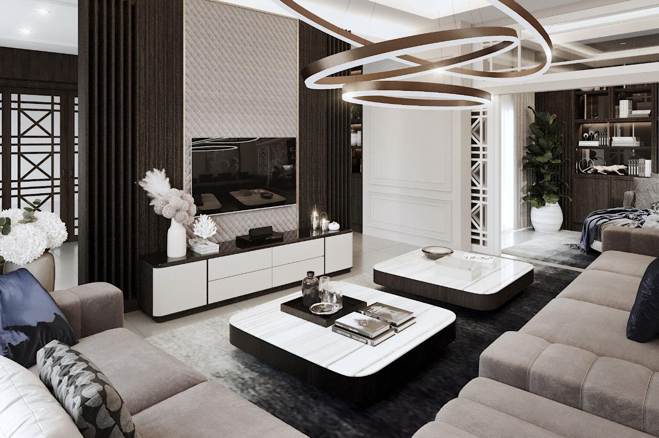 New Life Style The City Ratchapruek - Living Room