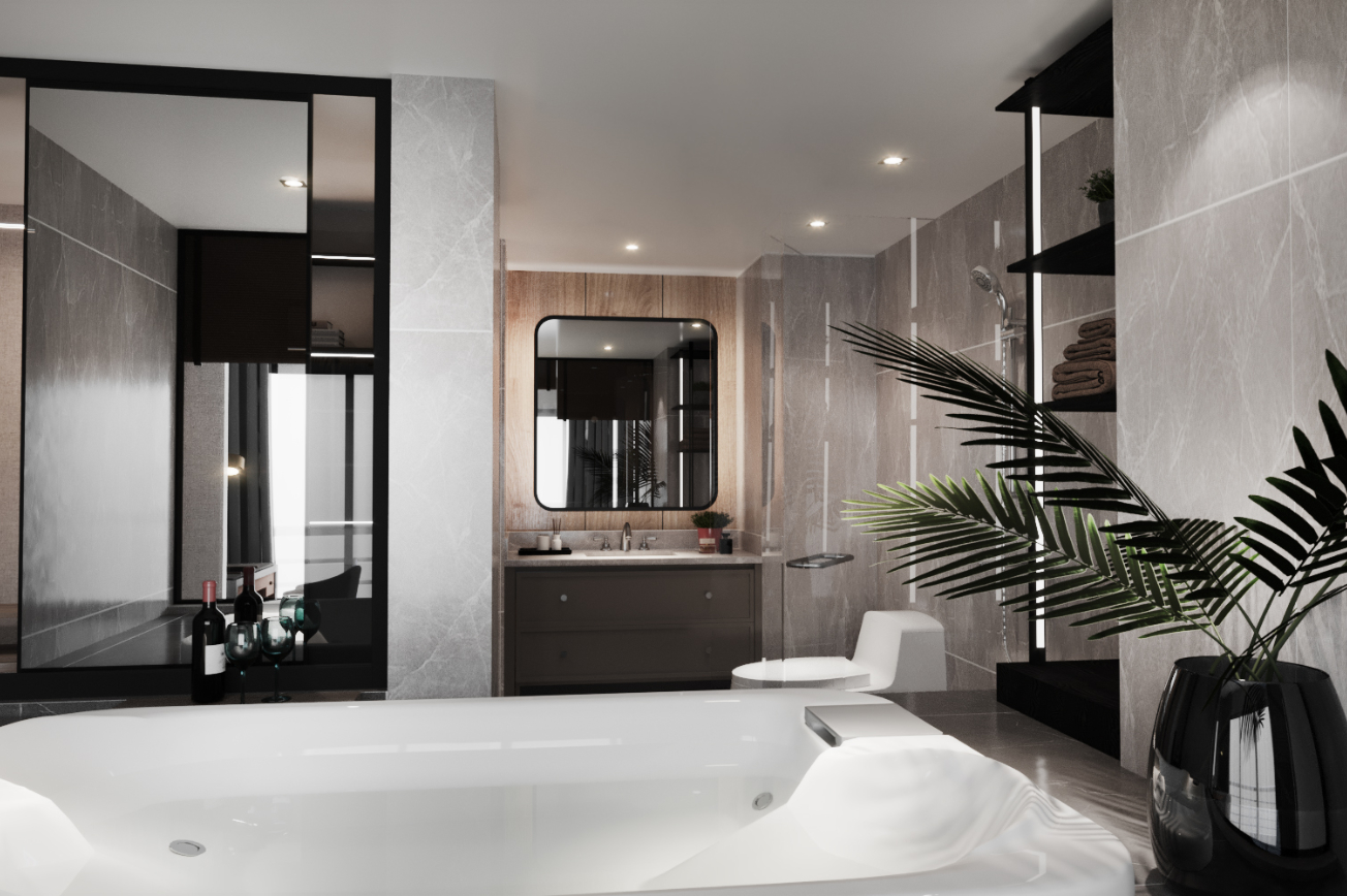11. Toilet Timeless Penthouse-Ratchada Pavilion