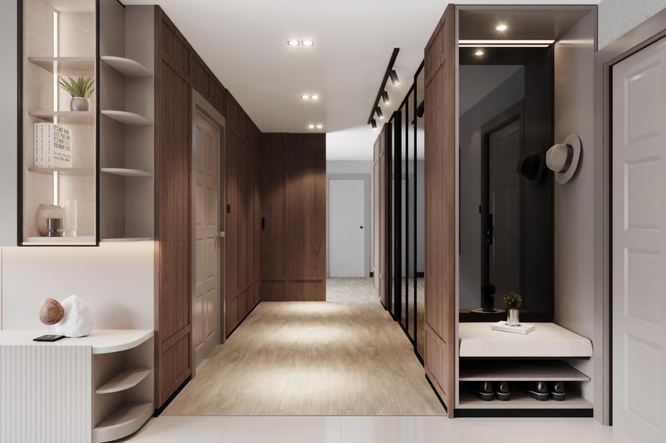 Corridor Timeless Penthouse-Ratchada Pavilion