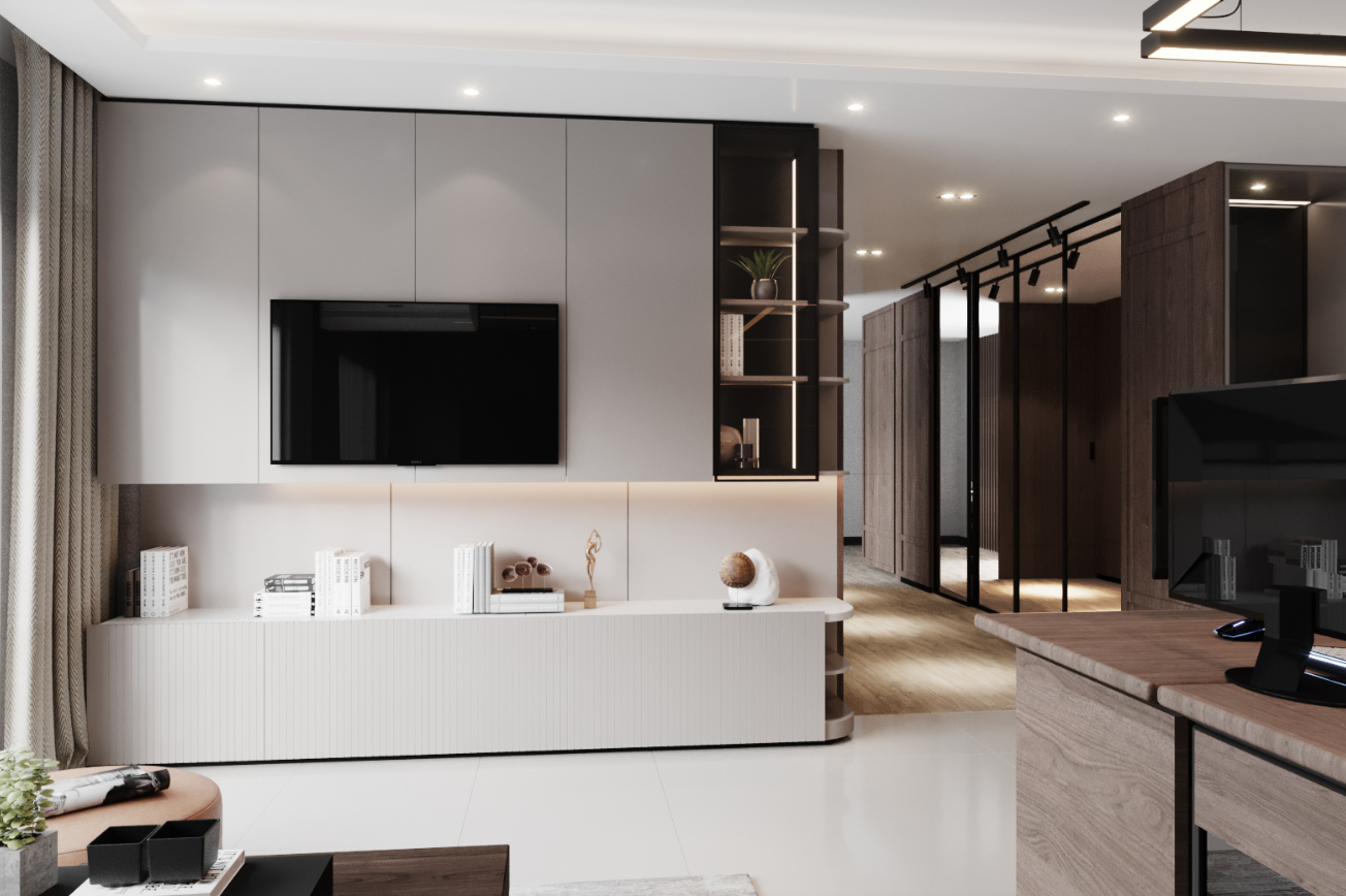 Working Room Timeless Penthouse-Ratchada Pavilion
