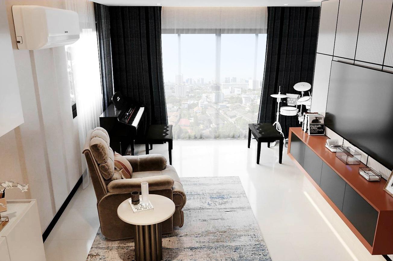 Music Room Timeless Penthouse-Ratchada Pavilion
