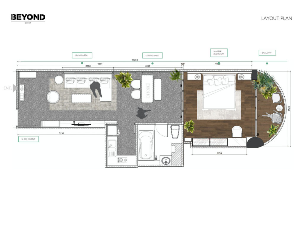Turquoise Breeze Layout Plan