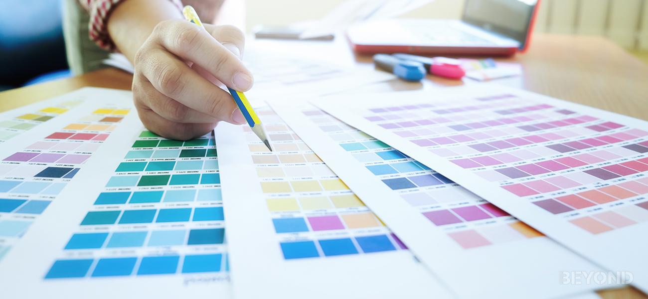 Interior design color psychology