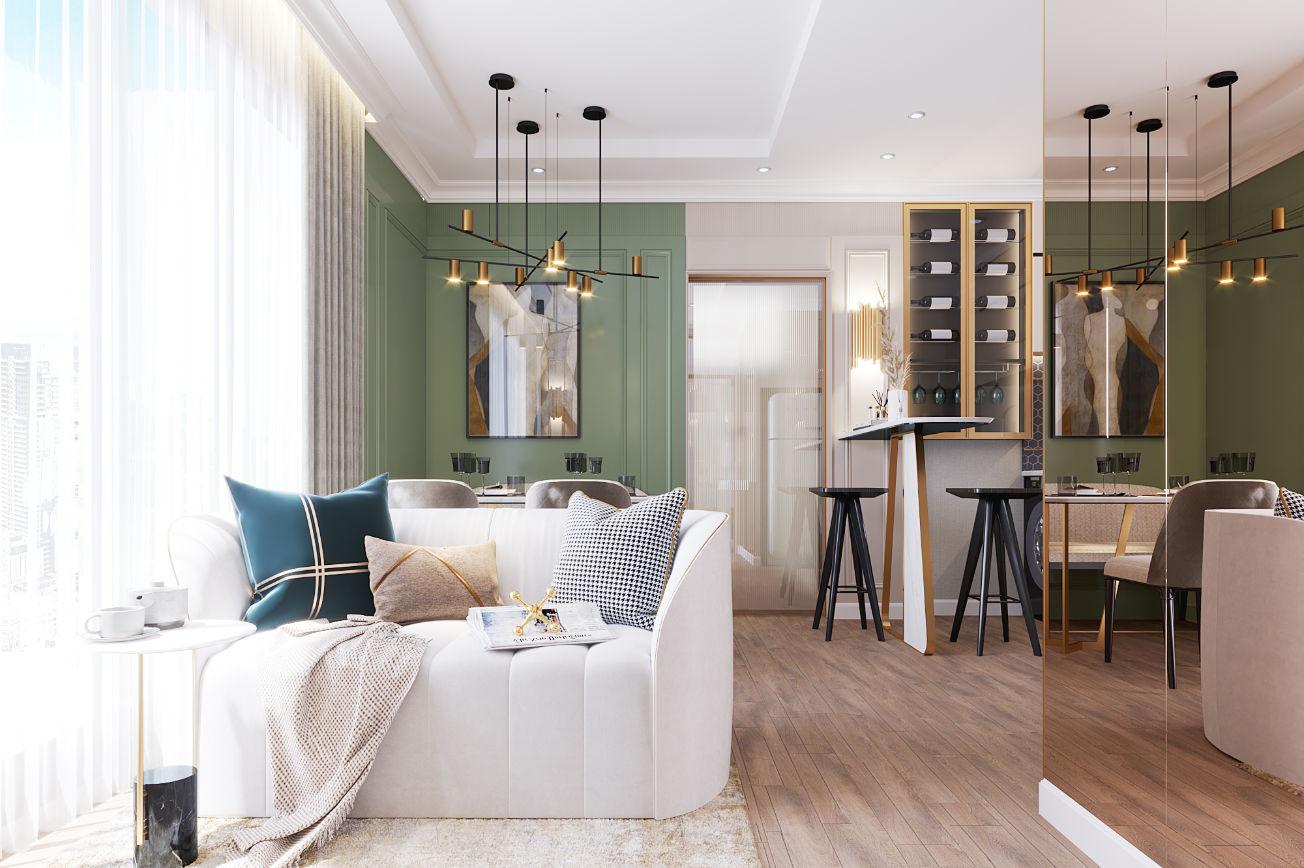 Neutral Classic Living Room