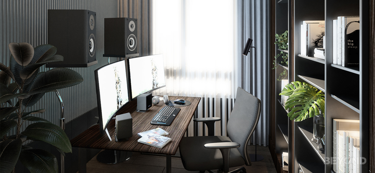 zoom ready home office interior design