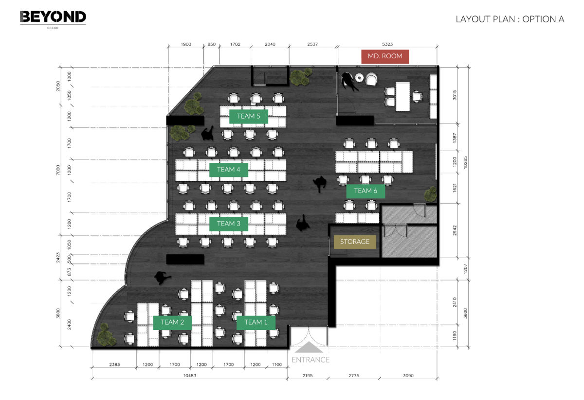 GloHow Layout Plan